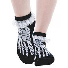 #TOOFASTRUFFLESOCKS #OCCULTBONES #OCCULT #BONES #RUFFLESOCKS #ANKLESOCKS #SOCKS #Womens #OneSize #Girls #Skeleton #Feet #NWT #TooFast #AnkleSocks