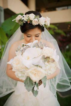 Heavenly wedding florals  Anna Kim Photography