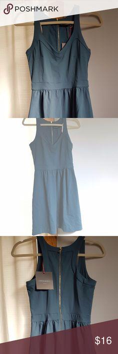 Cynthia Rowley Green Skater Dress - NWT Sweet Cynthia Rowley dress, never worn. Cute and comfy. Cynthia Rowley Dresses