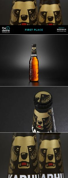The Dieline Awards 2015: 1st Place Beer, Malt Beverages, Tobacco- Karhu — The Dieline | Packaging & Branding Design & Innovation News