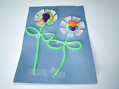 Letter F craft - F is for flower