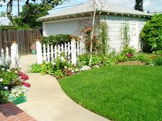 Cottages And Bungalows landscaping | Rumor has it that one of our gardens will be in Cottage and Bungalow ...