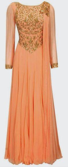 Bridal Light color Long Frock | Buy online long frocks ............ | Elegant Fashion Wear Price:10000 #elegantfashionwear #bridal #lightcolor #longfrock