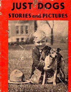 vintage dog photo book