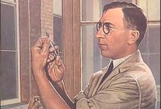 Source: painting, primary -Banting and Best were two people who found a way to treat diabetes with insulin shots. For not knowing much about diabetes and how to cure it they saved the lives of many Canadians and around the world. Frederick Banting, Prix Nobel, Type One Diabetes, Canadian History, University Of Toronto, Diabetes Mellitus, Medical Students, Clinic, The Cure