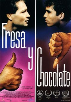 Fresa y chocolate - Strawberry and Chocolate by Tomás Gutiérrez Alea and Juan Carlos Tabío (Thx Alesaskia)