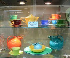 Colorful Vintage Harlequin Dinnerware