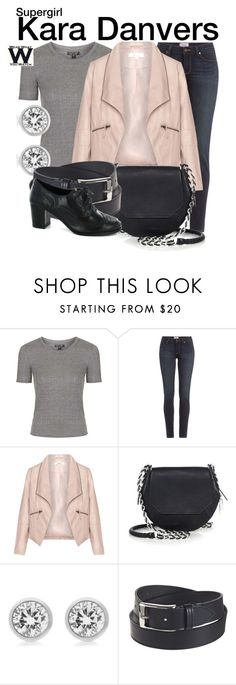 """""""Supergirl"""" by wearwhatyouwatch ❤ liked on Polyvore featuring Topshop, Paige Denim, Zizzi, rag & bone, Michael Kors, Susie in the Sky, women's clothing, women, female and woman"""