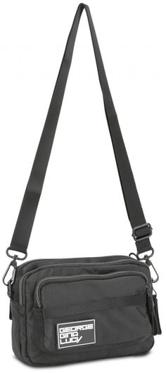 Love Letters all in black Bauchtasche George Gina & Lucy schwarz GGL Nylons, George Gina Lucy, Love Letters, Gym Bag, Bags, Fanny Pack, Black, Handbags, Cartas De Amor