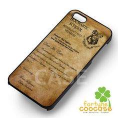 Acceptance Letter Hogwart Harry Potter - for iPhone Edge,Samsung Note Iphone 4, Iphone Cases, Harry Potter Phone Case, Samsung Note 3, Acceptance Letter, Hogwarts, Notes, Lettering, Learning