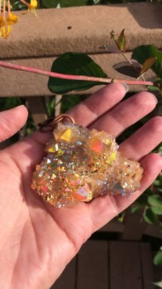 Spirit Quartz, Quartz Cluster, Rocks And Minerals, Sunset, Crystals, Metal, Crafts, Manualidades, Crystal
