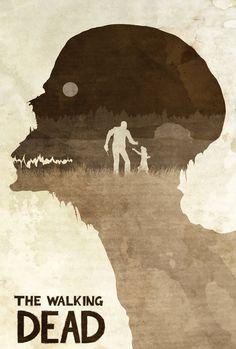 Don't Worry, Clementine - The Walking Dead Poster by disgorgeapocalypse.deviantart.com on @deviantART