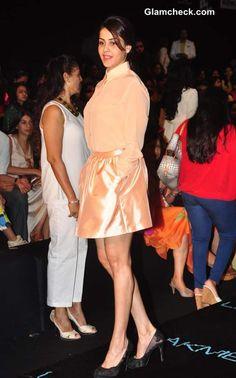Genelia D'Souza at Lakme Fashion Week Winter Festive 2013
