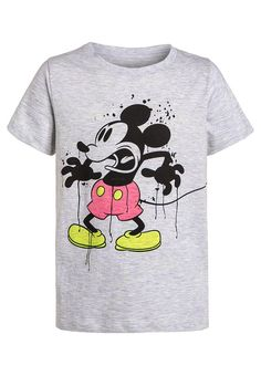 Eleven Paris MICKEY - Print T-shirt - grey for £26.00 (07/06/16) with free delivery at Zalando