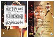 Joe Montana 1997 SP Authentic ML3 Mark of a Legend Autograph Redemption Card