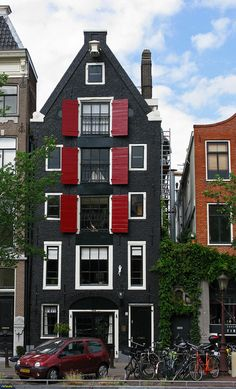 Amsterdam, Netherlands I love there buildings and houses