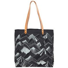 Nell & Mary Mountain Tote Gray
