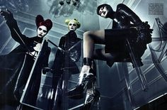 'A Point of View' by Steven Klein, Vouge Italia September 2011