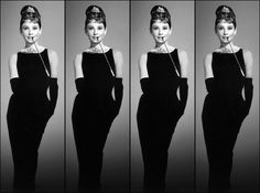 50 Off Audrey Hepburn 4 panel  8x10 Photo Print  by CelebrityTimes, $12.95