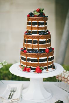 The Hottest Trend in Wedding Desserts: Drip Cakes | Green Wedding Shoes | Weddings, Fashion, Lifestyle + Trave