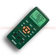 http://termometer.dk/specialmaler-r13485/lcr-tester-r13511/lcr-meter-53-LCR200-r13513  LCR meter  Foranstaltninger induktans, kapacitans og modstand med sekundær parameter Q (kvalitet), D (Dissipation), R (Resistance), P (fase), ESR (Equivalent Series Resistance)  Samtidig 20.000 / 2000 visning på baggrundsbelyst display på den primære parameter (L, C eller R) med det sekundære parameter  Auto Select målefunktion med 1 kHz standard tra ; tfrekvens  Fem testfrekvenser  Set Hi / Lo...