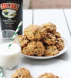 From Calculu∫ to Cupcake∫ | Irish Cream Oatmeal Chocolate Chip Cookies for  St. Patrick's Day