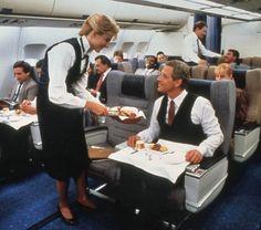 Pan Am Airbus A310 Clipper Class Cabin