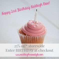 Today (10.1) only, the entire store is 25% off using BIRTHDAY at checkout! (all sales final / shipping is free in US)