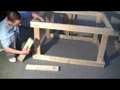▶ HOW TO: Build an Aquarium Stand/Canopy 1/3 - YouTube