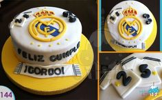 Real Madrid pastel / cake Bakery 676