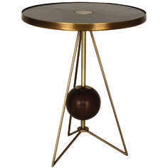 Jonathan Adler Ojai Side Table - contemporary - side tables and accent tables - Masins Furniture Contemporary Side Tables, Modern Side Table, Furniture Sale, Table Furniture, Lounge Furniture, Metal Furniture, Furniture Ideas, Round End Tables, Brass Side Table