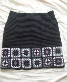 Granny Square Skirt