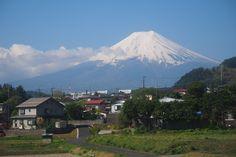 Mt. Fuji from Mitsutoge st.