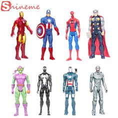 Action toy figures, Ironman, Captain America, Spiderman, Thor ++  $22.4 and FREE shipping  Get it here --> https://www.herouni.com/product/action-toy-figures-ironman-captain-america-spiderman-thor/  #superhero #geek #geekculture #marvel #dccomics #superman #batman #spiderman #ironman #deadpool #memes
