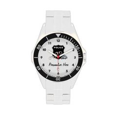 Police Cops Logo Wrist Watches