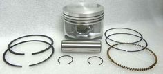 WSM Honda 250 Piston Kit 50-224, OEM 13101-HA0-004, 13101-HA0-000 #Honda