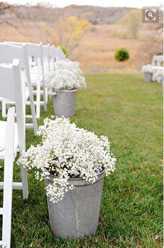 Ceremony decor just add lavender
