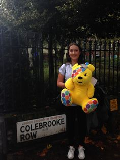 How could we not take a photo! Our old home! #PasPudsey