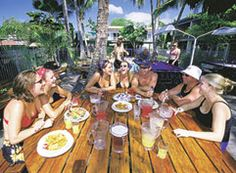 Beaches Backpacker Resort-Airlie Beach. Beaches Backpackers is a laidback funky hostel located right in the centre of town.