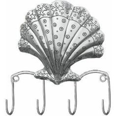 Hanging Hooks Key Rack Scalloped Shell - Regal Art #20042 by Regal Art and Gift. $16.97. Use Of Richly Colored Automobile Paint Creates Quality, Durable Finish.. Mix And Match Items In Same Or Different Themes.. Special Painting Techniques Creates A 'Patina' Effect.. Extensive Handcrafting Is Put Into Each Piece.. This Hanging Hooks Key Rack Scalloped Shell - Regal Art #20042 will be at home in your office or home, bathroom, by your door, in your kitchen, your bedroom...
