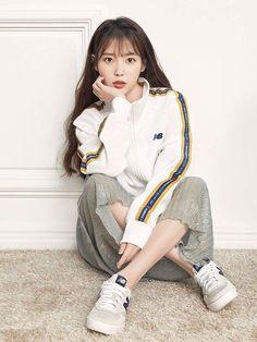 IU eyes a new Hong sister project for her comeback Iu Fashion, Look Fashion, Korean Fashion, Korean Girl, Asian Girl, Pose Reference Photo, Korean Actresses, Female Poses, Korean Celebrities