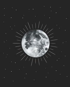 #luna #moon #lunallena #frases #citas Wallpaper Space, Wallpaper Backgrounds, Wow Art, Black Art, Cute Wallpapers, Art Pictures, Cute Art, Aesthetic Wallpapers, Art Inspo