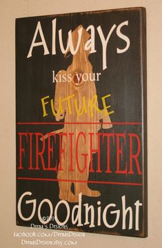 Firefighter Nursery Firefighter Wall Art Custom by DeenasDesign, $48.00