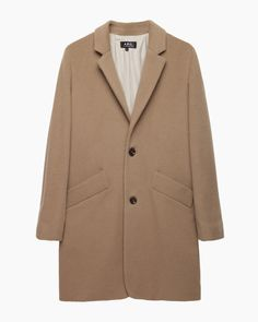 A.P.C.  Chesterfield Coat