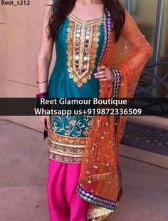 Lavish Cyan Full Embroidered With Mirrior Work Punjabi Suit Product Code: Reet_s212 All colours any stuff can be customise To order, call/whatsapp on +919872336509 It will make you noticable in special gathering. Buy Link : https://www.facebook.com/reetglamourboutique/