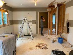 Crystal Lake Main Level Reveal | construction2style Home Bar Designs, Cool Bars, Maine, Construction, House Design, Crystals, Building, Crystal, Architecture Design