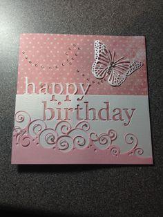 Memory box happy birthday card