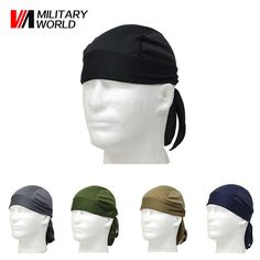 Outdoor Sports Quick Dry Cycling Cap Headscarf Headband Bandanna #fitnessaccessories #amalhantashfitness #bandana #headwear #cap #scarf #headscarf #headband