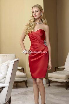 #Christmas #wedding Mori Lee Affairs Bridesmaid Dresses - Style 184