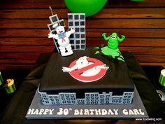 Foodie Ling - An Adelaide Food Blog: Mr. Foodie Turns 30 - A Ghostbusters Party